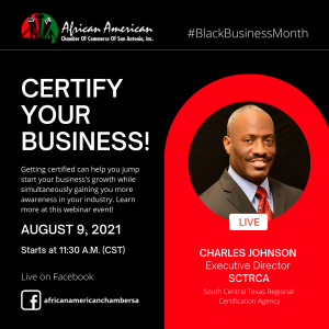 Certify Your Business! w/ SCTRCA